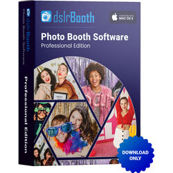 dslrBooth Professional Mac Edition Photo Booth Software (Download)