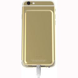 Scosche MagicMount PowerBank Lightning 4000 mAh Battery Pack (Gold)