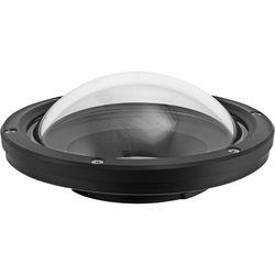 "Nimar 6"" Polycarbonate Glass Dome for Sigma 10mm f/2.8 EX DC HSM Fisheye Lens"