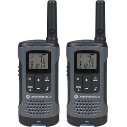 Motorola Talkabout T200 FRS/GMRS Two-Way Radios (2-Pack, Gray)