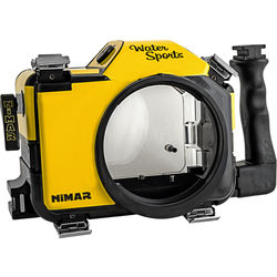 Nimar Water Sports Housing for Nikon D7100 or D7200 (Yellow/Clear)