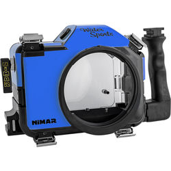 Nimar Water Sports Housing for Panasonic Lumix DMC-GH4/GH4R (Blue/Clear)