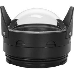 """Nimar 4"""" Dome Port for Nikon DX Nikkor 10.5mm f/2.8 or Tokina 10-17mm f/3.5-4.5 Lens"""