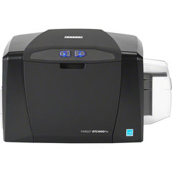 Fargo DTC1000Me Single-Sided Monochrome ID Card Printer with Ethernet + Internal Print Server, and ISO Magnetic Stripe Encoder