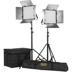 ikan Rayden 1 x 1 Bi-Color 2-Point Panel LED Light Kit