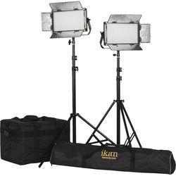 ikan Rayden Half x 1 Bi-Color 2-Point Panel LED Light Kit
