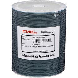 CMC Pro 700MB CD-R White Everest 48x Discs (100-Pack)