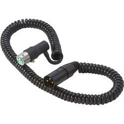 K-Tek KTK18NK - XLR Male to XLR Female Coiled Cable (1.5-9')