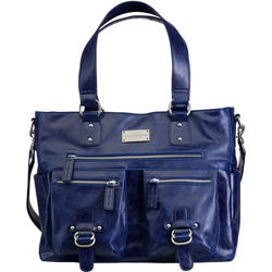 Kelly Moore Bag The Libby Shoulder Bag (Sapphire)
