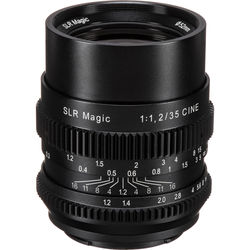 SLR Magic Cine 35mm f/1.2 FE Lens for Sony E-Mount