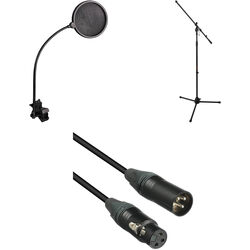 B&H Photo Video Vocal Microphone Accessory Bundle - Essential