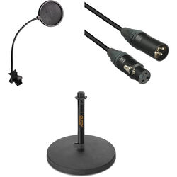 B&H Photo Video Desktop XLR Microphone Essentials Kit