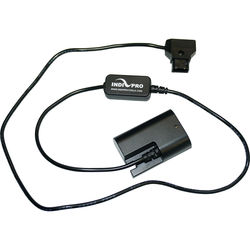"IndiPRO Tools Power Converter D-Tap to Canon LP-E6 Dummy Battery (30"") for SmallHD Monitors"