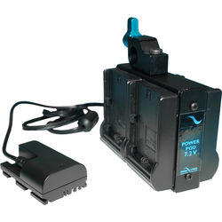 IndiPRO Tools Quad Power Grid for Cameras Running on LP-E6 Batteries