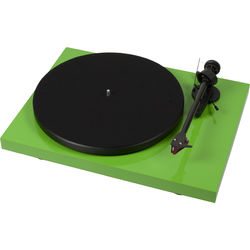 "Pro-Ject Audio Systems Debut Carbon DC Turntable with 8.6"" Carbon Fiber Tonearm (Green)"