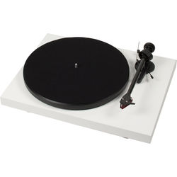 "Pro-Ject Audio Systems Debut Carbon DC Turntable with 8.6"" Carbon Fiber Tonearm (White)"