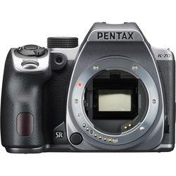 Pentax K-70 DSLR Camera (Body Only, Silver)