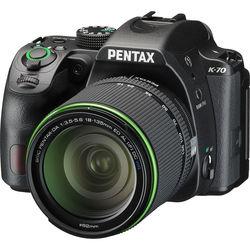 Pentax K-70 DSLR Camera with 18-135mm Lens (Black)