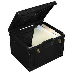 Turtle LOC DOC Box (Pack of 5, Black)