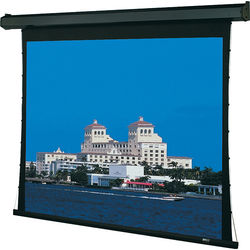 "Draper 101058FRQLP Premier 72 x 96"" Motorized Screen with Low Voltage Controller, Plug & Play, and Quiet Motor (120V)"