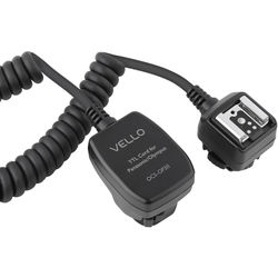 Vello Off-Camera TTL Flash Cord for Olympus/Panasonic Cameras (3')
