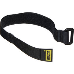 """Rip-Tie 1 x 12"""" CinchStrap (10 Pack, Black)"""