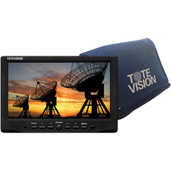 """Tote Vision 7"""" HD LED-Backlit LCD Plastic-Cased Monitor Battery Kit"""