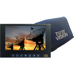 "Tote Vision 7"" HD LED-Backlit LCD Metal-Cased Monitor Battery Kit"