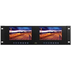 "Tote Vision Dual 7"" TFT LCD Touchscreen Monitor Rackmount (3RU)"