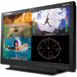"""Wohler 20"""" LCD Video Monitor with 4 Auto-Sensing Inputs and Tabletop Mount"""