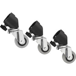 Impact Set of 3 Casters (22mm)
