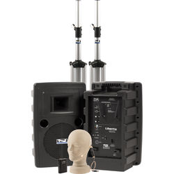 Anchor Audio Liberty Deluxe AIR PA Package with EM-TA4F UltraLite Mic