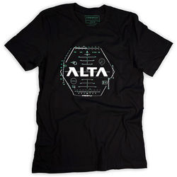 FREEFLY T-Shirt with Alta Hud Artwork (Large)