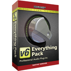 McDSP Everything Pack Native v5 to v6.2 Upgrade - Music Production Plug-In Bundle (Download)