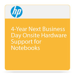 HP 4-Year Next Business Day Onsite Hardware Support for Notebooks
