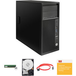 HP Z240 Series Tower Turnkey Workstation with 32GBRAM and 4TB Hard Drive