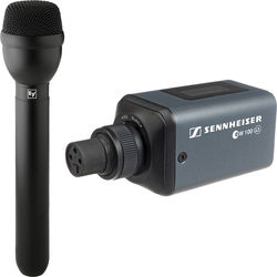 Sennheiser SKP 100 G3 Transmitter and Electro-Voice RE50B Handheld Wireless Mic Kit - A1 (470-516 MHz)