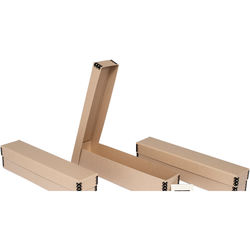 Archival Methods 07-001-3 Slide Box ONLY (Tan, 3 Pack)