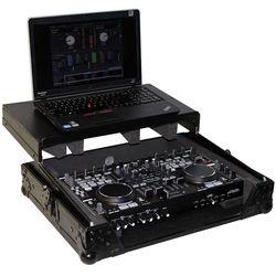 ProX Flight Case with Laptop Shelf for Denon DNMC6000 Digital Controller (Black-Black)
