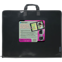"""Itoya Zipper Portfolio Case for up to 17 x 22"""" Sketches and Photos (17.5 x 22.5"""")"""