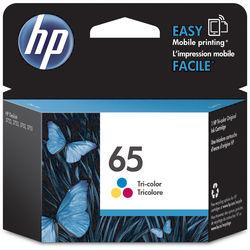 HP 65 Tri-Color Ink Cartridge