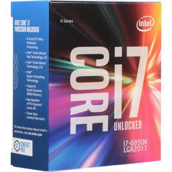 Intel Core i7-6850K 3.6 GHz Six-Core LGA 2011-v3 Processor (Retail)