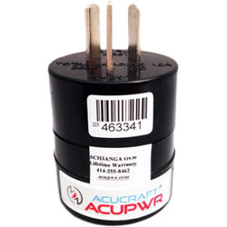 ACUPWR Type F to Type I Plug Adapter