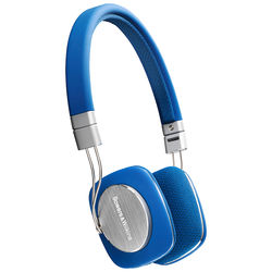 Bowers & Wilkins P3 Mobile & Portable Headphones with Remote & Mic (Blue)