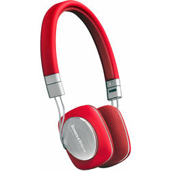 Bowers & Wilkins P3 Mobile & Portable Headphones with Remote & Mic (Red)