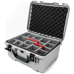 Nanuk 933 Protective Equipment Case with Padded Dividers (Silver)