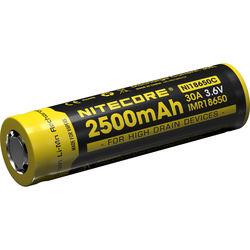 NITECORE 18650-C IMR Li-Mn Rechargeable Battery (3.6V, 2500mAh)