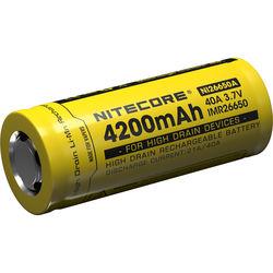 NITECORE 26650A IMR Li-Mn Rechargeable Battery (3.7V, 4200mAh)