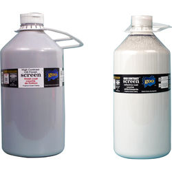 Goo Systems High Contrast +20 Finish Coat with High Contrast Reflective Coat Screen Goo Set (Pair of 0.5 Gal Bottles)