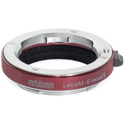 Metabones Leica M Lens to Sony E-Mount Camera T Adapter (Red)